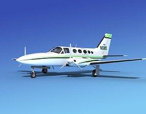 Cessna 414A Chancellor V09 3D
