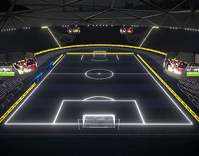 Glow Stadium PBR 3D model