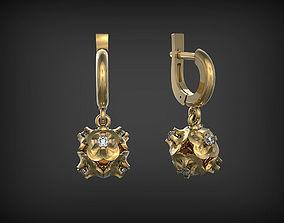 3D printable model Earrings Astro