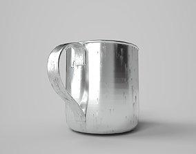 Tin Cup Aged - PBR 3D asset