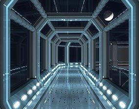 3D asset Modular Corridor V2