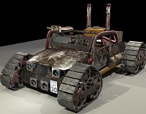 3D model Apocalyptic Car