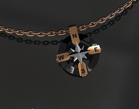 Men Pendant Star connection 3D print model