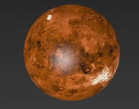 space Venus 8K 3D model