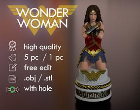 3D print model Wonder Woman Bust Torso Half body