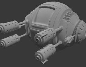 3D model SciFi Robotic Pod