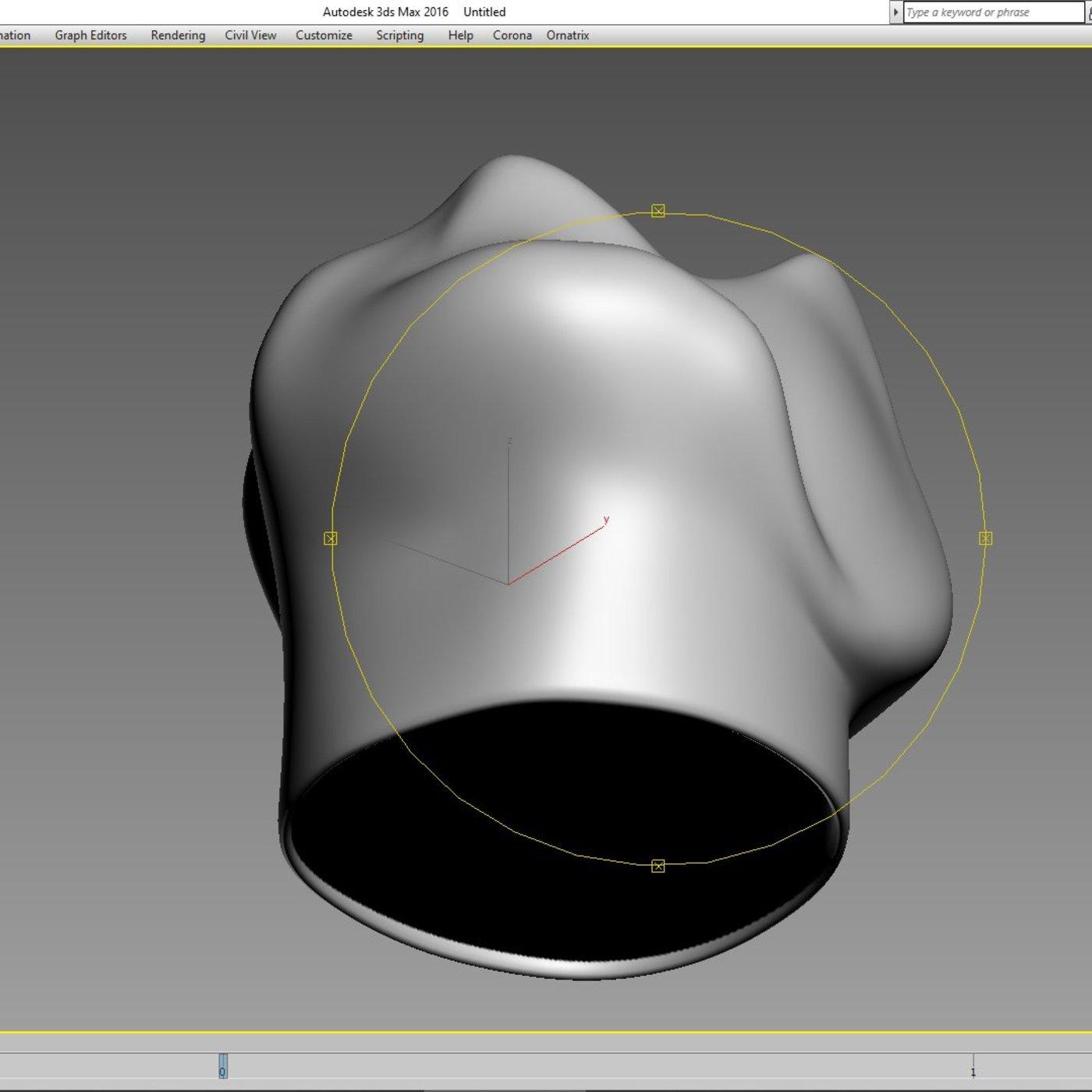 abajur lighting 3d print model