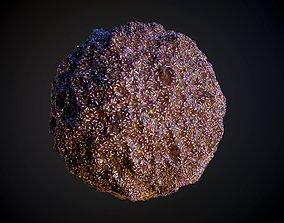 3D Food Ice Cream Chocolate Seamless PBR Texture