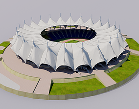 3D model King Fahd International Stadium - Riyadh Saudi