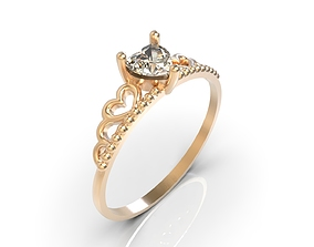 3D print model Crown ring A0-3010154