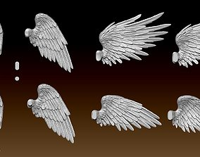 3D print model Feathered Wings Pack - Eagle - Hawk