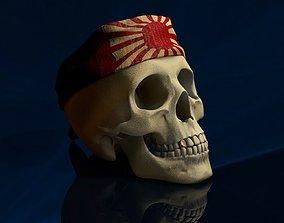 3D model Bandana Skull
