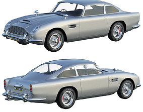 Aston Martin DB5 3D