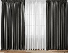 3D drapery Curtain