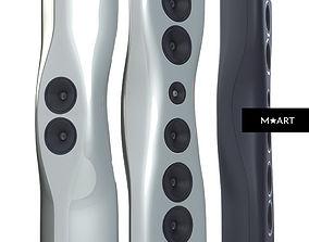 KEF Muon speakers 3D model