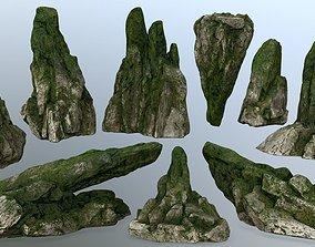 3D model rocks 1