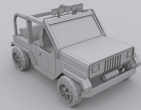 jeep four vilar 3D asset