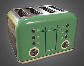 3D model MCN - Retro Toaster Midcentury - PBR Game Ready