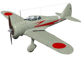 3D Nakajima Ki27 Nate Kou