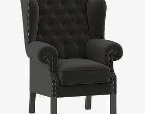 Eichholtz Club Chair Bradley 3D