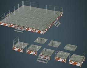 Stage Platform 1A 3D model