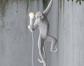 3D Hanging Monkey wall lamp