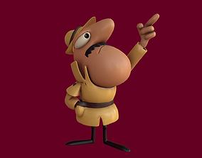 3D model Inspector Clouseau