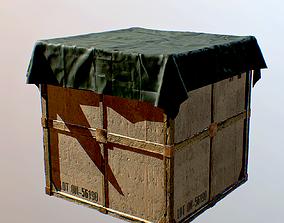 Drop Supply PBR 3d Model game-ready