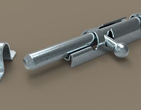 household-hardware Latch 3D model