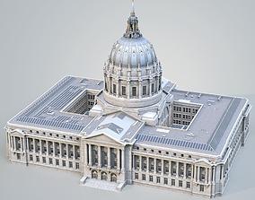 3D model San Francisco City Hall