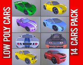 Cars Pack 14 3D model