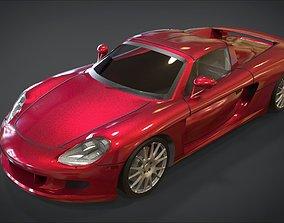 3D asset Porsche Carrera GT