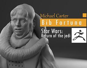 Michael Carter - Bib Fortuna - Star Wars 3D print model 3