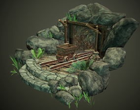Coal Mine 3D model