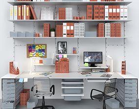 Office furniture 5 3D model