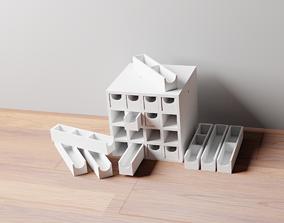 007M LA Unit Medium 16 Micro Drawer Storage 3D print model
