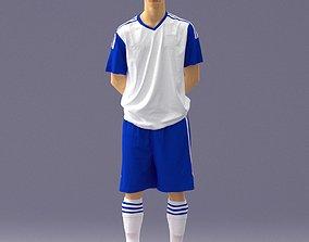Soccer player 1114-3 3D model