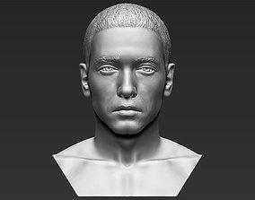 Eminem bust 3D printing ready stl obj formats
