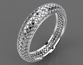 Ring diamond 3D print model