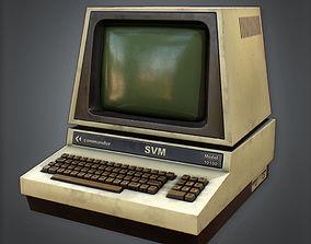 Computer Retro 02 80s 3D model