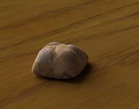 3D asset Bread loaf