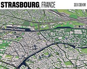 3D model Strasbourg