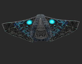 game-ready Sapaceship 3D Model
