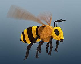 3D model Rigged Honeybee
