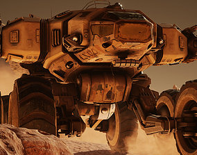 3D model realtime Mars Rover