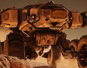 3D model Mars Rover