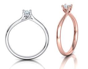 Engagement ring paradise 121 3D print model