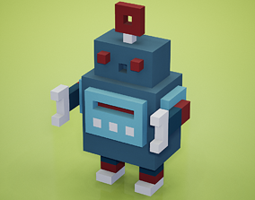 3D asset Voxel - Robot