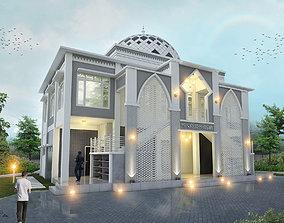 house Mosque 3D model