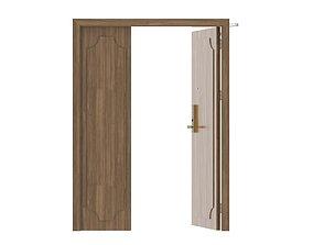 3D model Modern Single Wood Door